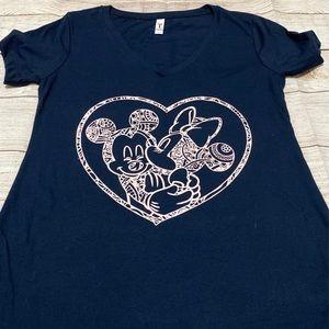 Minnie and Mickey T shirt